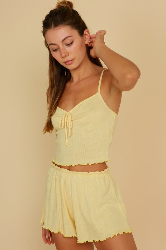 Josie Top - Yellow