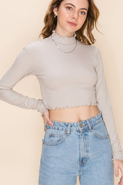 Shannon Top - Gray
