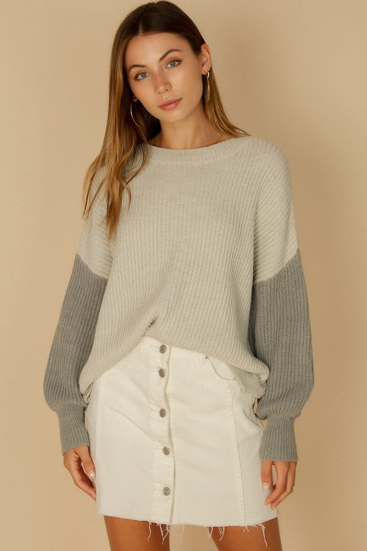 Kaitlyn Sweater - Gray