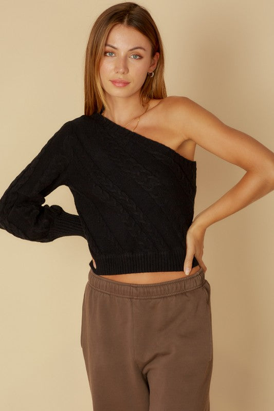 Mitzi Sweater - Black