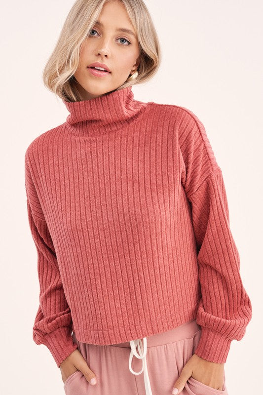 Darren Sweater - Marsala