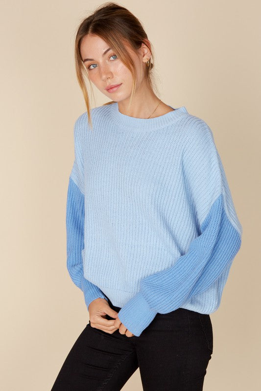 Kaitlyn Sweater - Blue