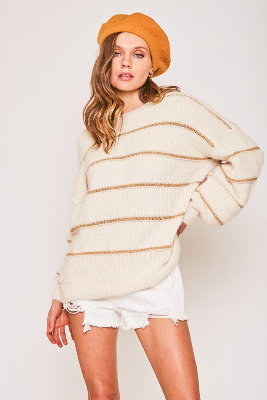 Cleo Sweater - Off White