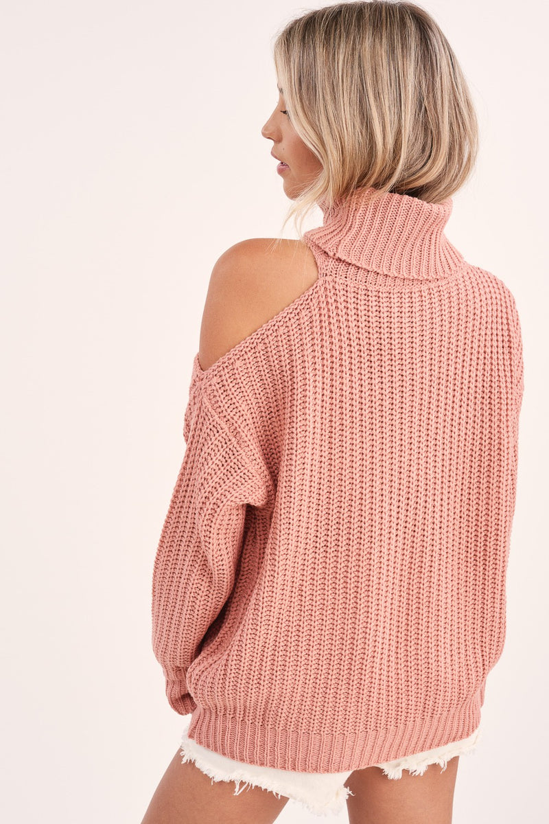 Abbey Sweater - Blush