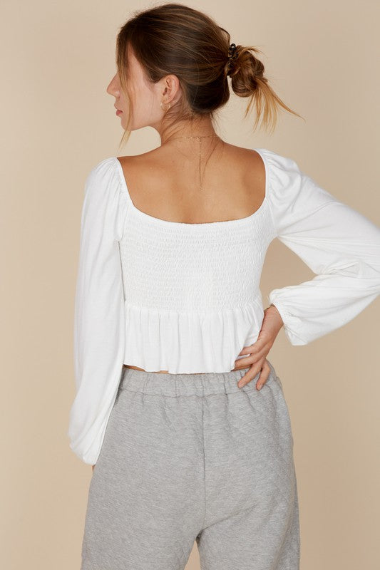 Madelyn Top - Ivory