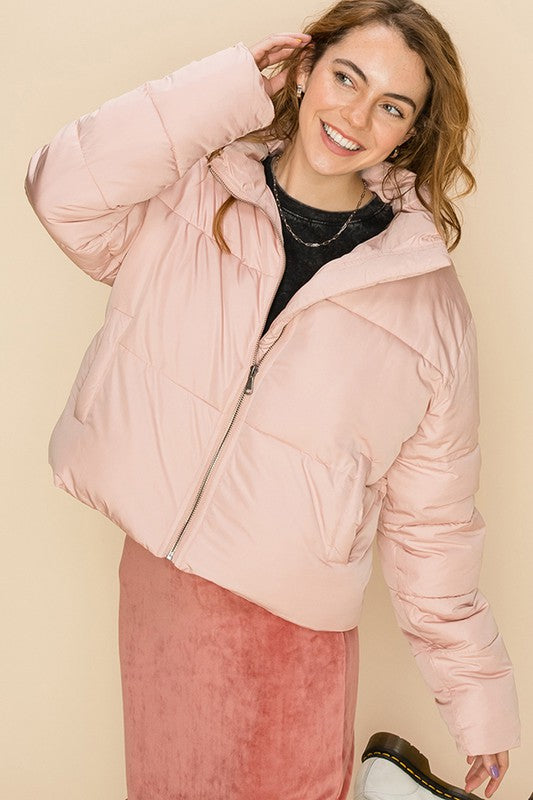Harper Jacket - Rose