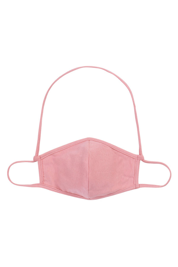 Face Mask - Pink w/ Neck Strap