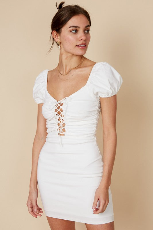 Magnolia Dress - White