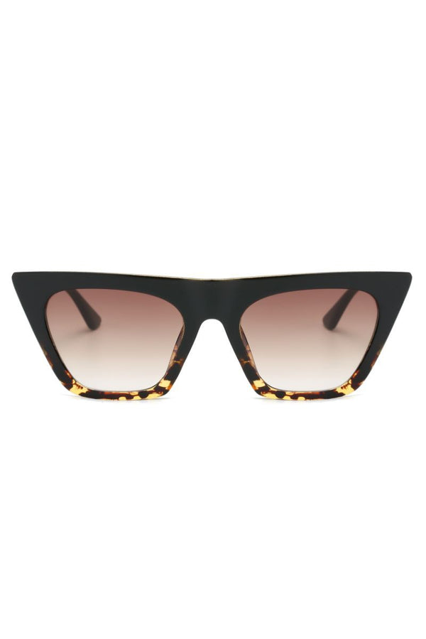 Hailey Sunglasses - Black/Tortoise