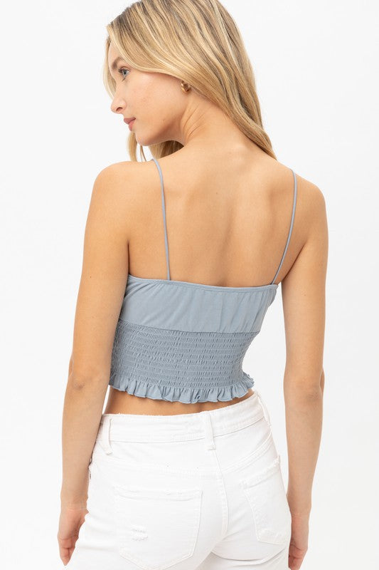 Claire Top - Blue