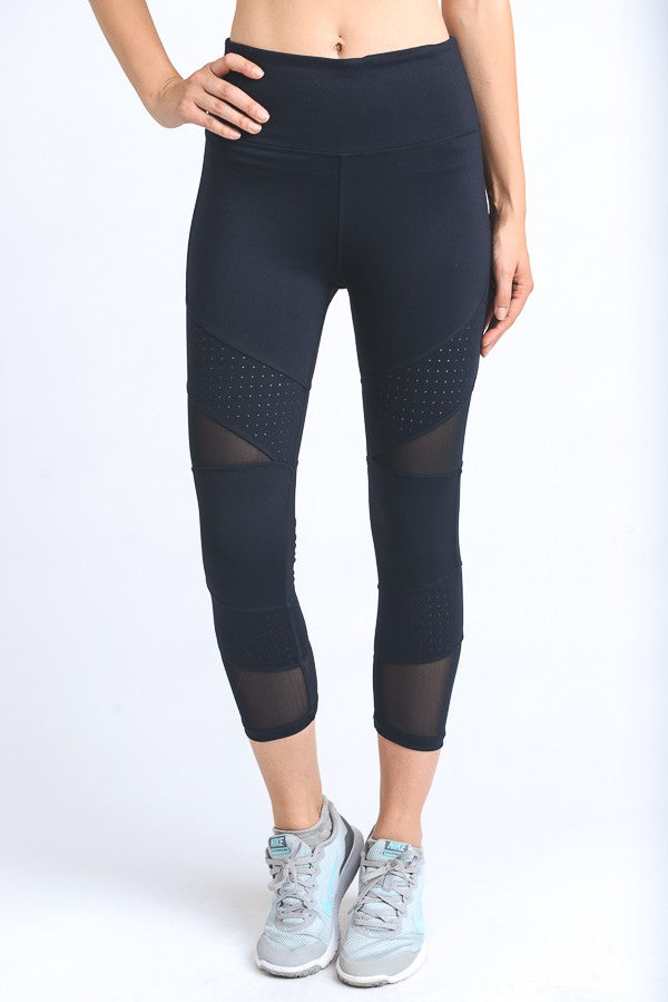 Black Riley Legging