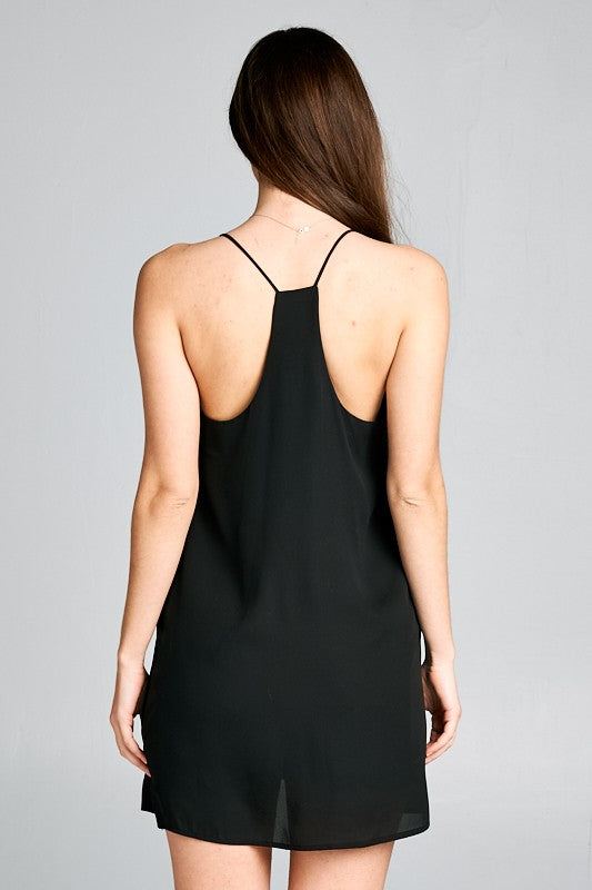 Black Juliet Dress