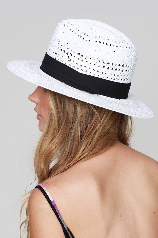 White Kiera Hat