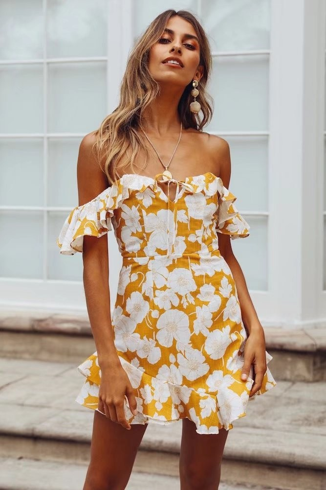 Blake Dress - Yellow
