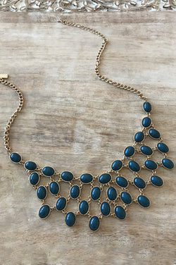 Ashley Necklace - Blue