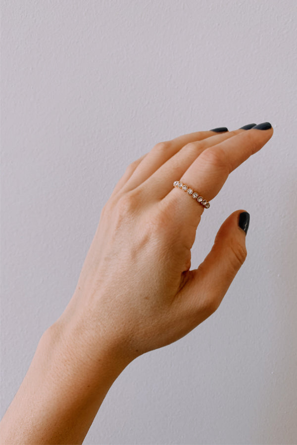 Delilah Ring - Clear