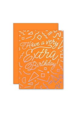 Extra Birthday Card