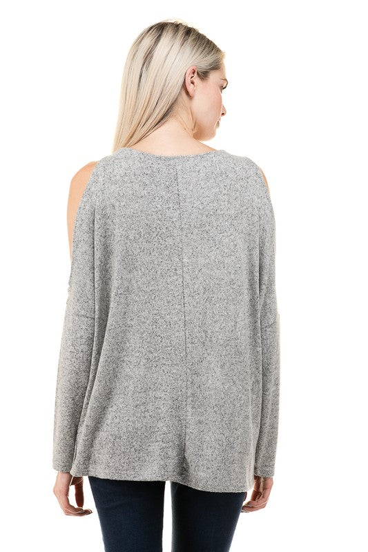 Delaney Top - Gray