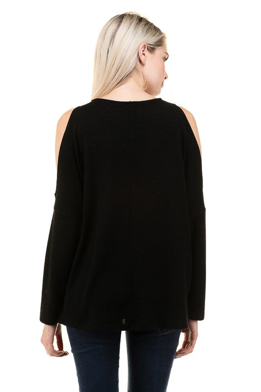 Black Delaney Top