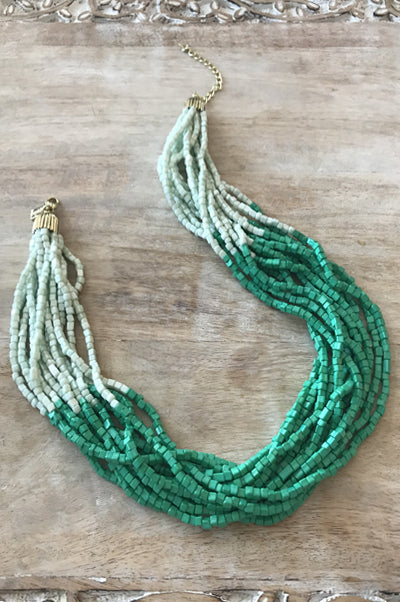 Liana Necklace - Green
