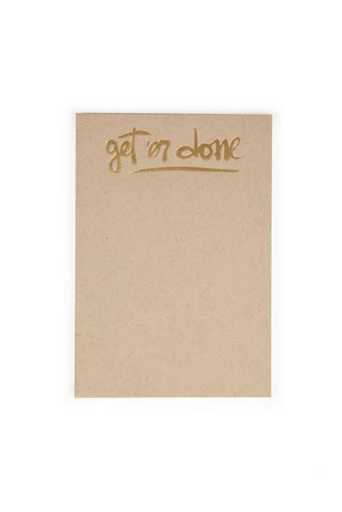 Get'er Done Notepad