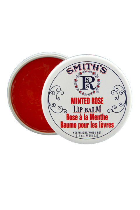 Minted Rose Lip Balm Tin