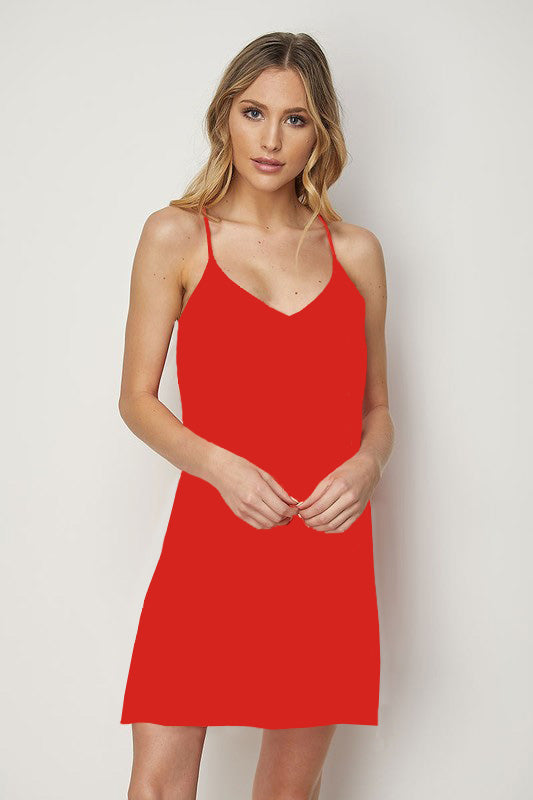 Red Juliet Dress