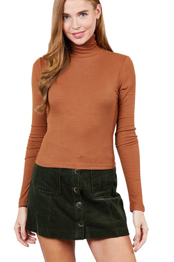 Elise Turtleneck - Cinnamon