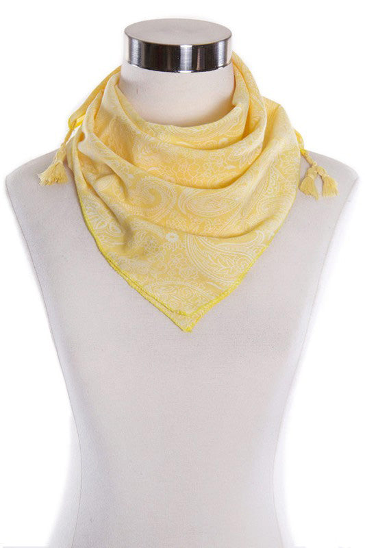 Yellow Amelia Bandana
