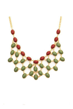 Ashley Necklace - Green