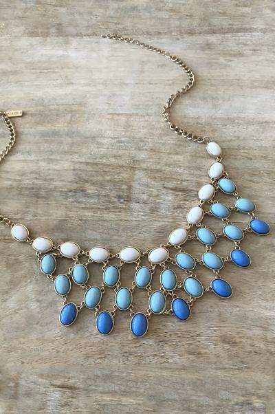 Ashley Necklace - White