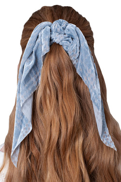 Alexa Scrunchie - Blue