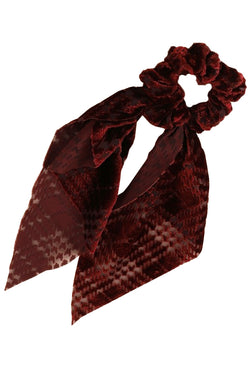 Alexa Scrunchie - Burgundy