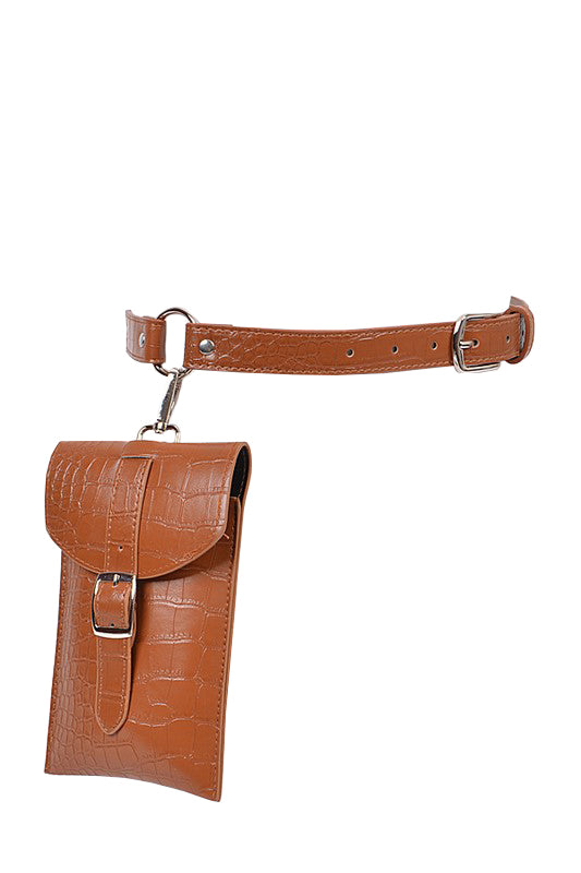 Kayla Belt Bag - Camel