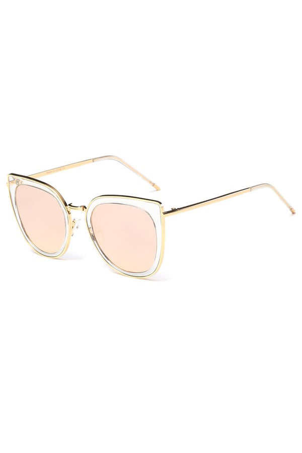 Camila Sunglasses - Clear