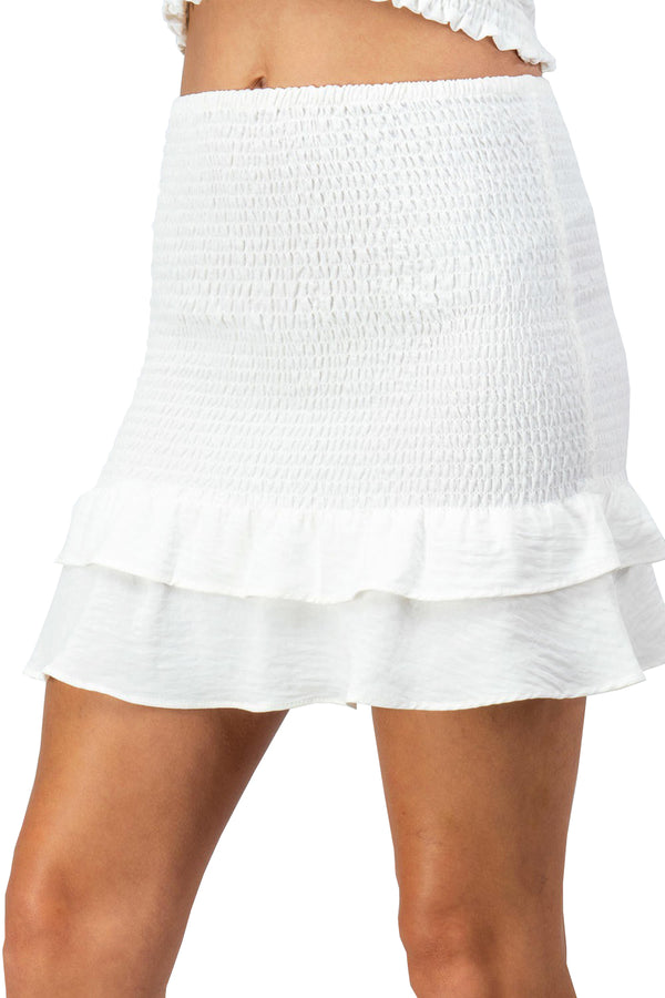 Cam Skirt - White