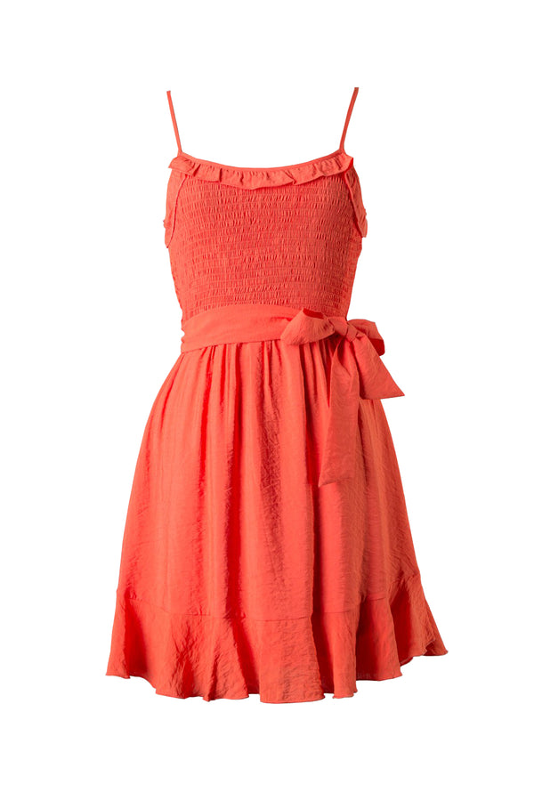 Corey Dress - Coral