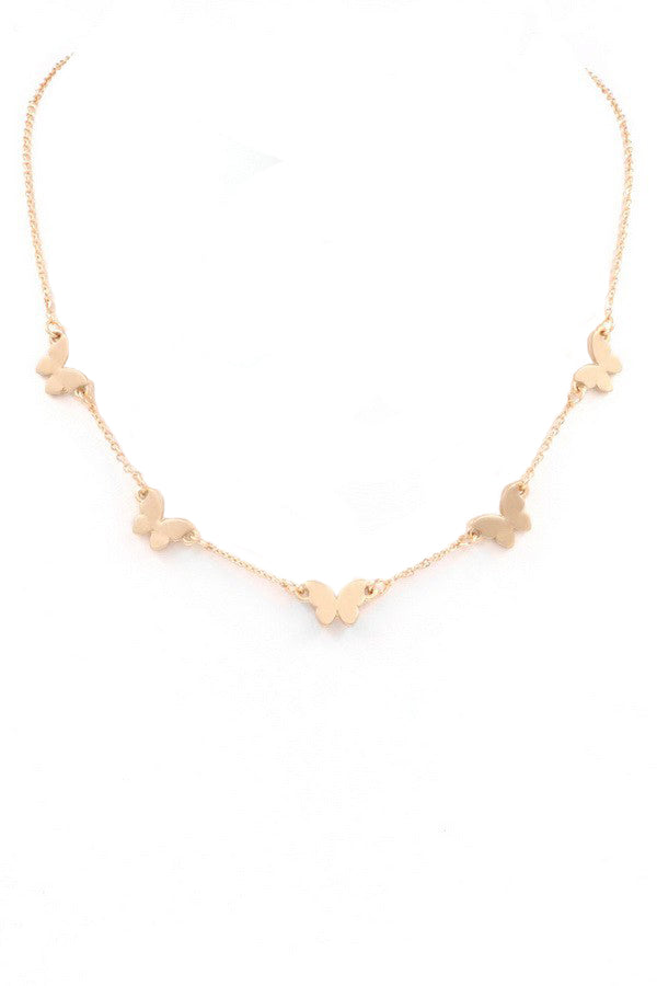 Cora Necklace - Gold