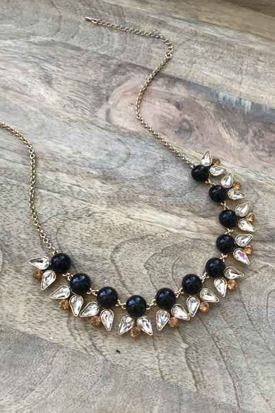 Dominique Necklace - Black