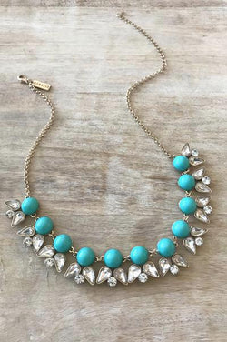 Dominique Necklace - Turquoise