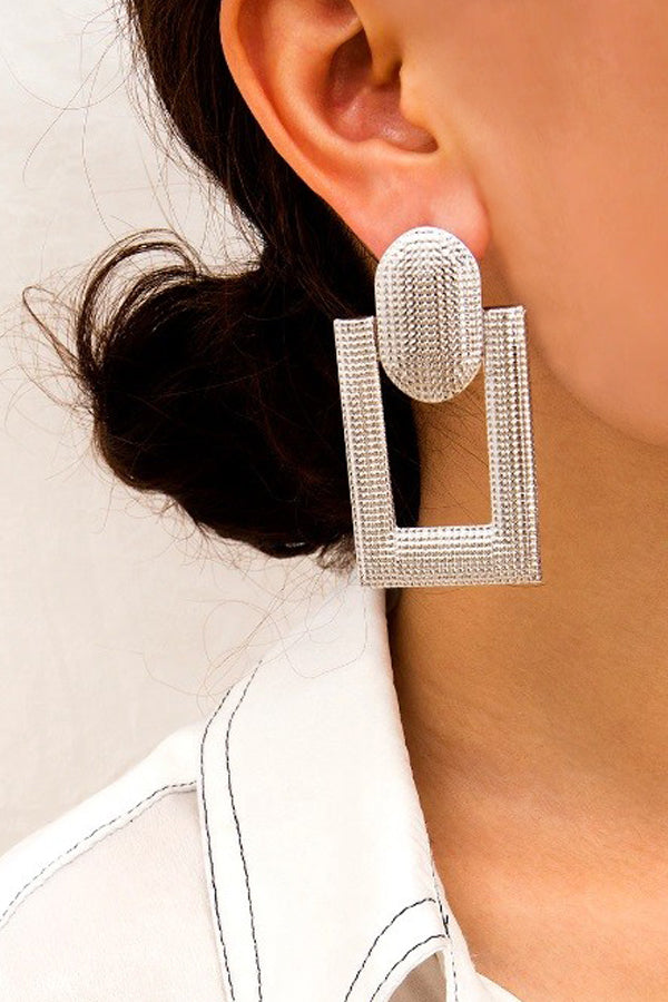Aria Earrings - Silver