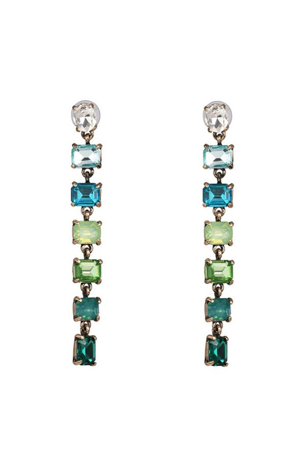Hannah Earrings - Green