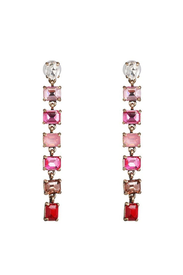 Hannah Earrings - Pink