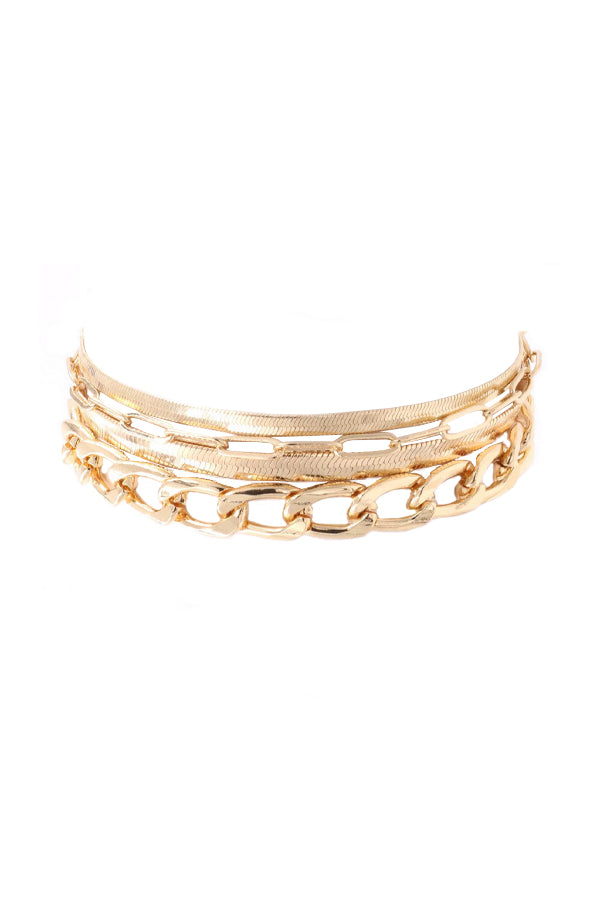 Goldie Bracelet Set