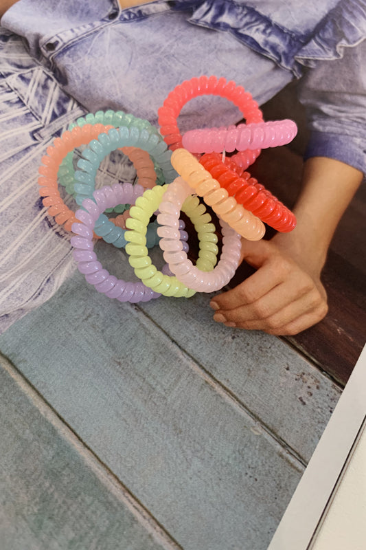Coiled Hair Ties - Small