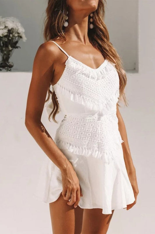Hayden Dress - White
