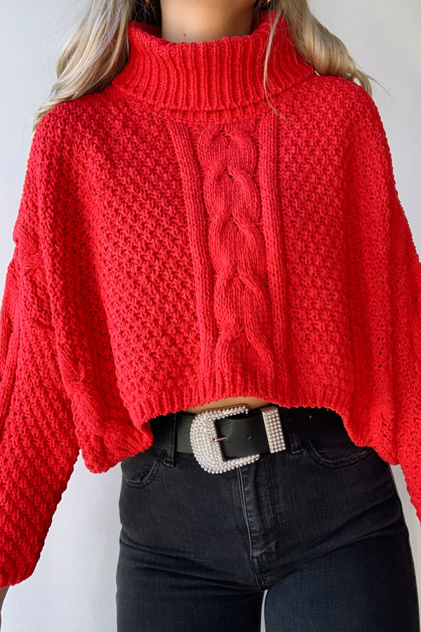 Kayla Sweater - Red