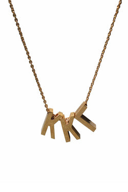 Kappa Kappa Gamma Letter Necklace