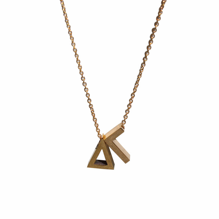 Delta Gamma Letter Necklace