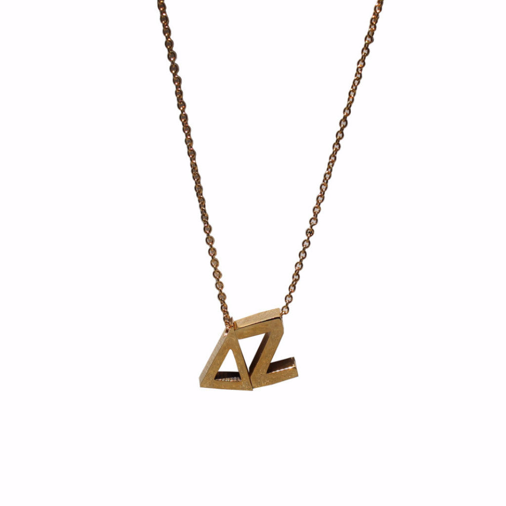 Delta Zeta Letter Necklace